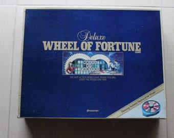 Deluxe Wheel of Fortune Pressman 1986