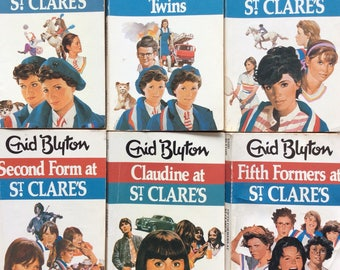 Complete series of St Clares by Enid Blyton