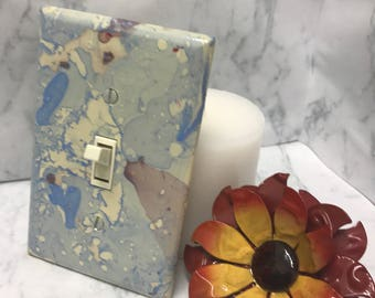 Blue Lagoon Light Switch Covers