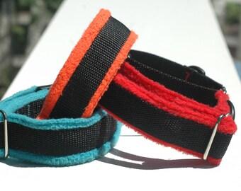 soft fleece dog collar