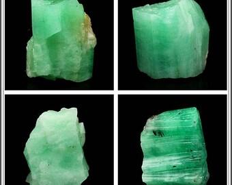 Small Size Natural Raw Emerald Gemstone Irregular Nugget Specimen - DY00280