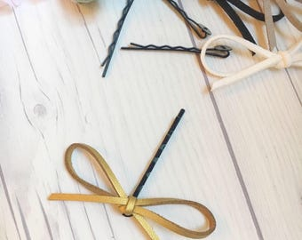 ONE Dainty Bow Bobby Pin, baby gift