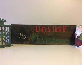 Days Until Christmas Countdown