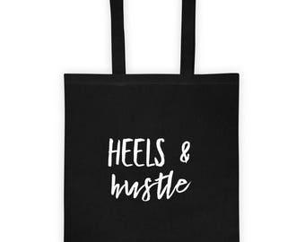 Heels & Hustle Tote bag
