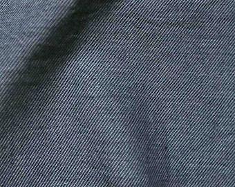 Navy Denim fabric