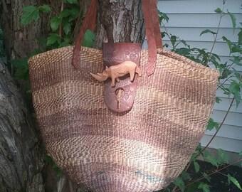 VTG Woven Market Bag