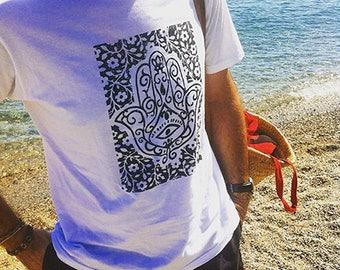 T-Shirt HAMSA/White