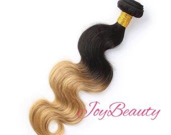 1b/27 Peruvian Malaysian Human Virgin Hair - BUNDLES