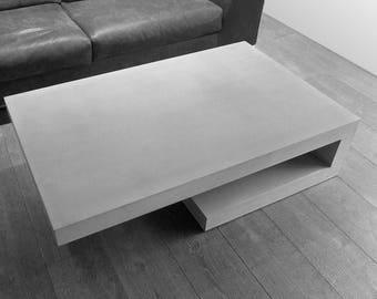 T6. 32 concretable coffee table concrete