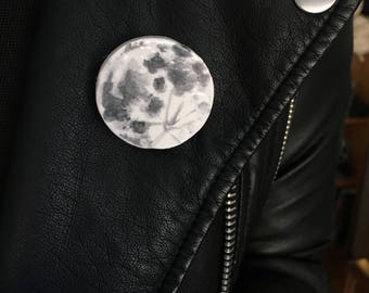 ceramic moon pin