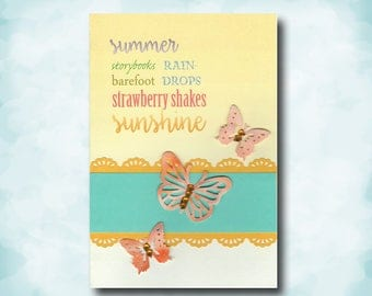 Celebrate Summer Handmade All Occasion Card