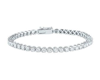 Nine Pointer Diamond Bracelet