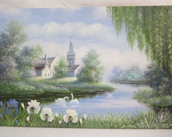 LIsting 174 is a L. Russell Oil Painting signed