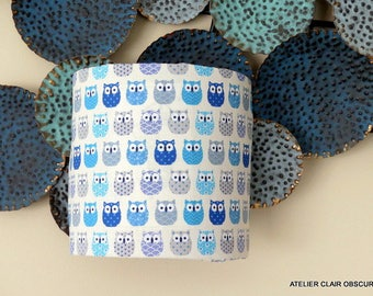 """PM wall cotton fabric and """"OWL"""" graphic"""