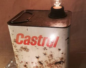 Lamp can Castrol * Christmas *.