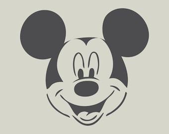 Mickey. Mickey stencil. Mickey design (ref 401)
