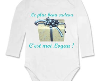 Bodysuit for the greatest gift's me personalized with name
