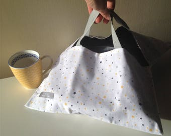 Reversible pie bag stars
