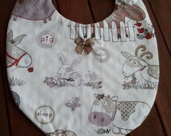 set of 2 baby bibs baby birthstone choices a 6 months