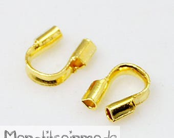 SET of 50 protection for wire OR gold Cap