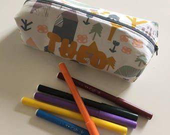Kit customizable school fabrics to choose