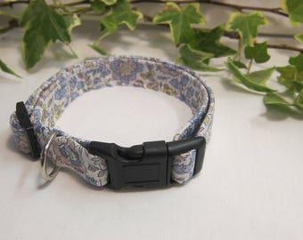 Danjo Liberty fabric dog collar