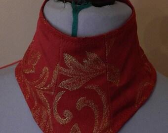 neck collar Victorian style corset