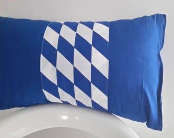 Blue and White Cushion cover 50 x 30 cm
