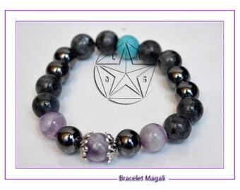 Magali zen protection bracelet gemstone protection