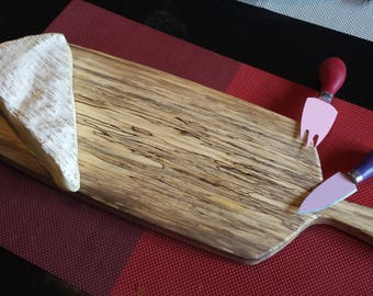 Spalted charm wooden cheese Board