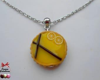 Lemon pie necklace