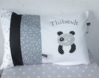My little Panda 30 x 50 custom personalized pillow