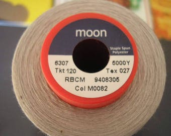 Coil cone grey moon polyester thread