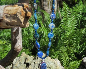 Blue Lapis necklace