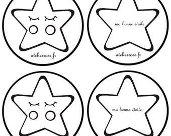 fabric pattern stars