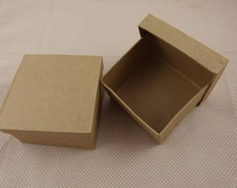 """Set of boxes """"square"""" blank card"""