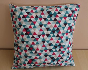 Cushion cover - 24 x 24 cm - pattern triangle