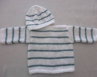 Jacket and hat size 3 months