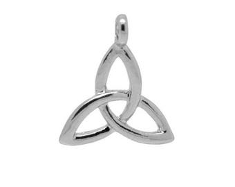 10 charms triangle knot of Sidhe sign 23x20mm within 15 days