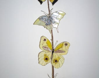 Home decor Butterfly painted by riviera pearl