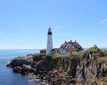 PHOTOGRAPHY - Light house - Maine -Pretty Wall Decor