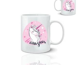Unicorn - ceramic mug mug 325 ml