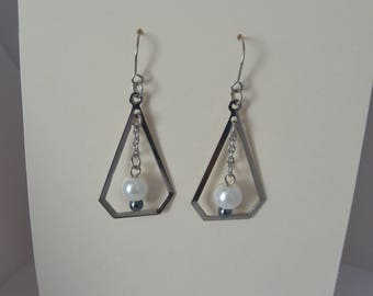 earring dangle stainless steel