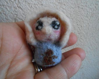 Mini Baby felted