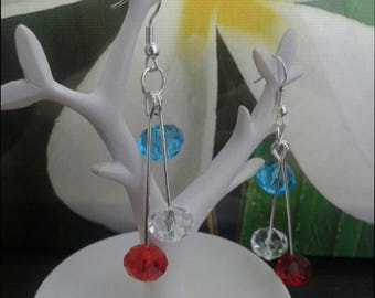 homeland with Swarovski crystals earrings