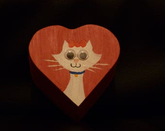 Kitty Kat Keepsake Box