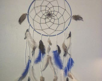 DreamCatcher - Dreamcatcher - blue, black and white