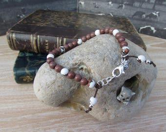 "Bracelet natural stones ""Mocha"""