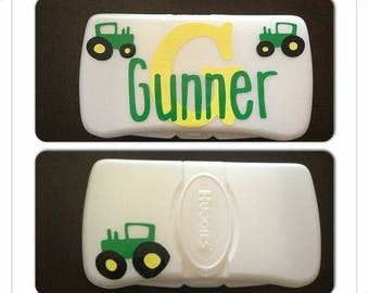 Personalized baby wipe case monogrammed