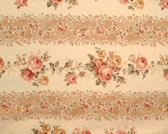 Coupon 49 x 54 cm patchwork collection of antique pink, fabric brand Lecien